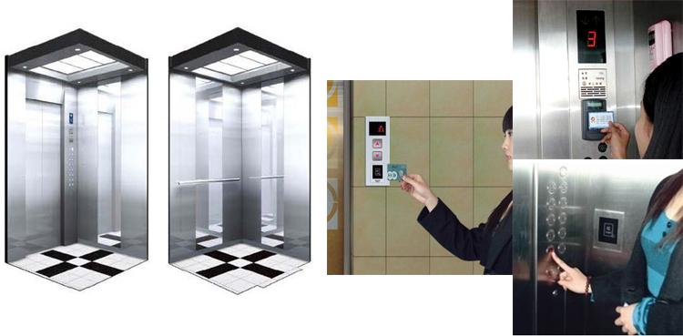 系统组成结构 ic卡层控型电梯控制系统包括ic卡